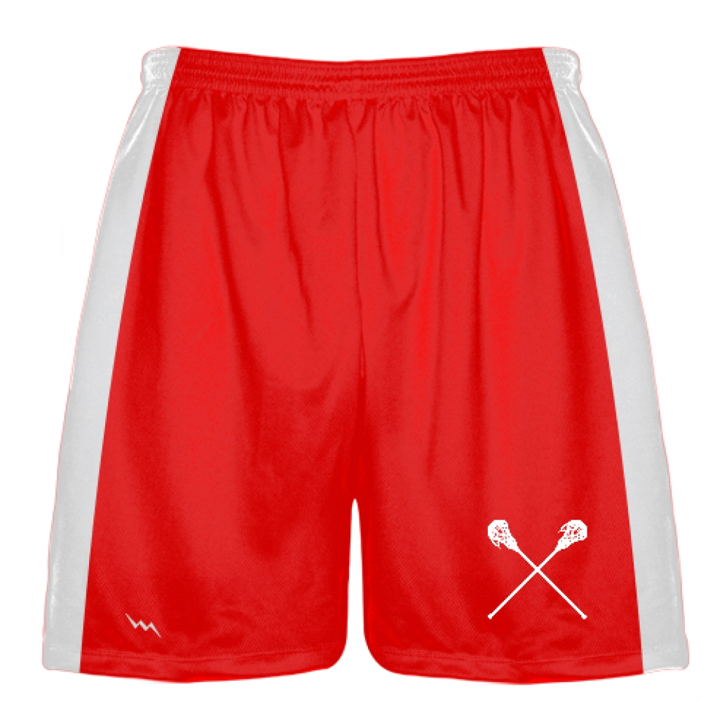 Red+Lacrosse+Short