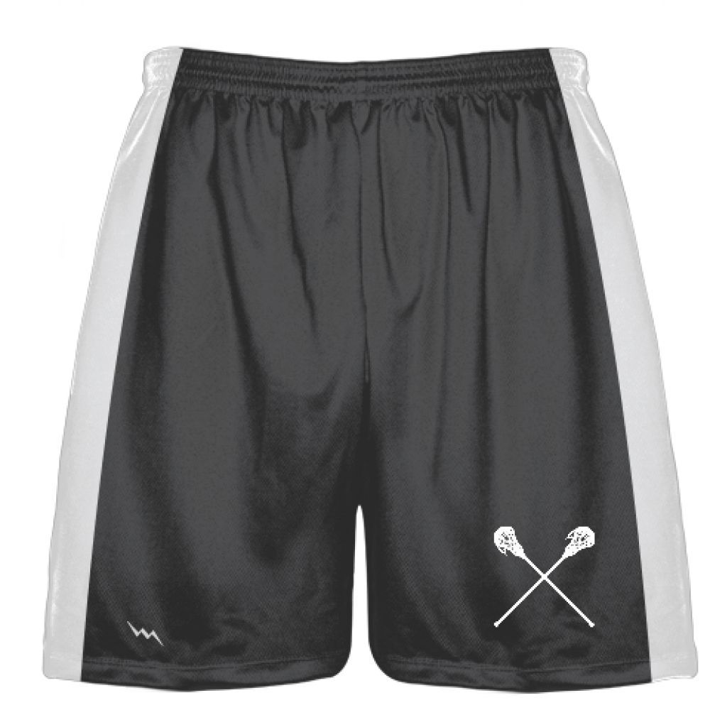 Dark+Grey+Lacrosse+Short