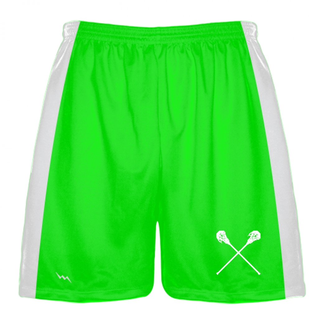 Neon+Green+Lacrosse+Short