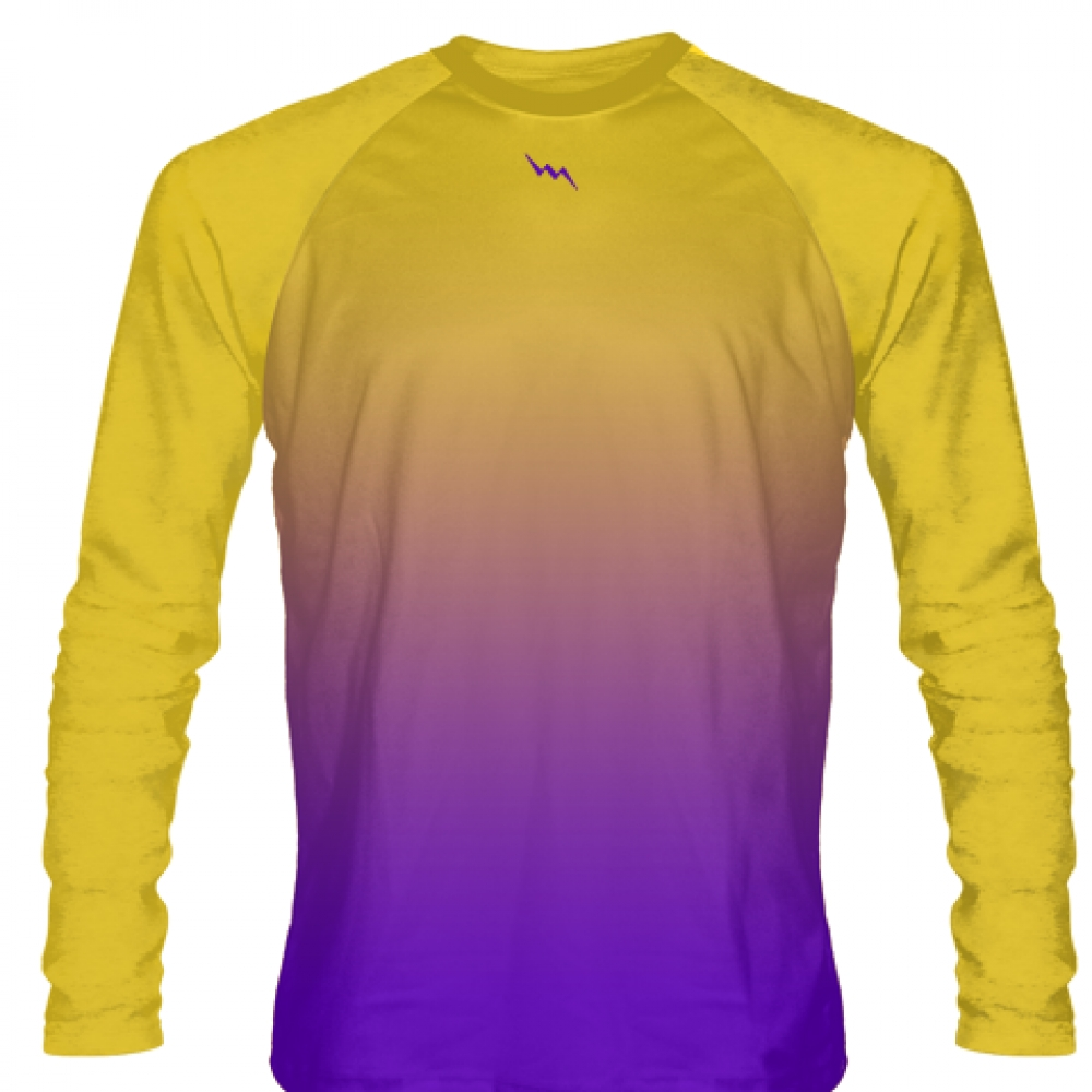 Gold+Purple+Basketball+Long+Sleeves