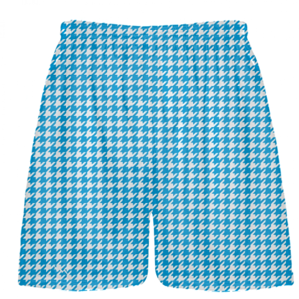 Beach+Blue+Houndstooth+Shorts+-+Sublimated+Shorts