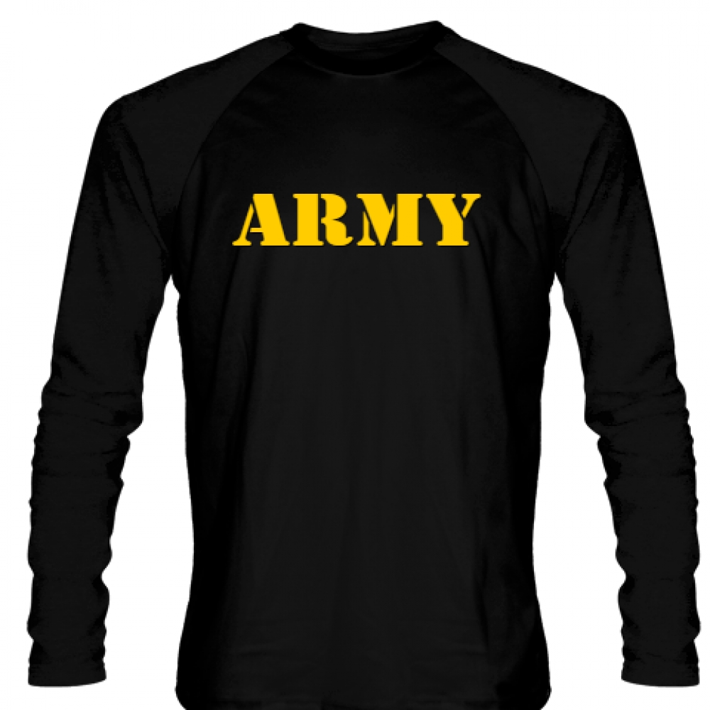 Black+Army+Long+Sleeve+Shirts
