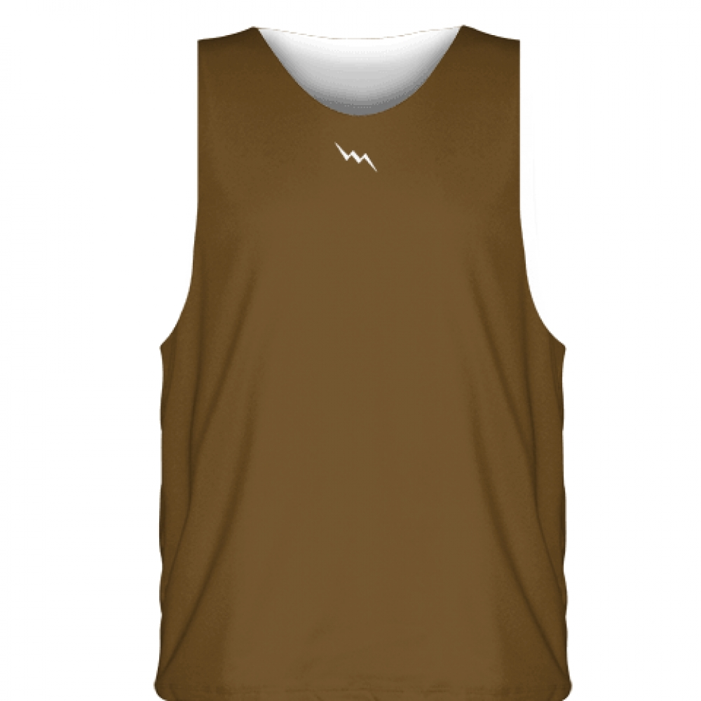 Brown+White++Basketball+Jersey+-+Sublimated+Jerseys+Basketball