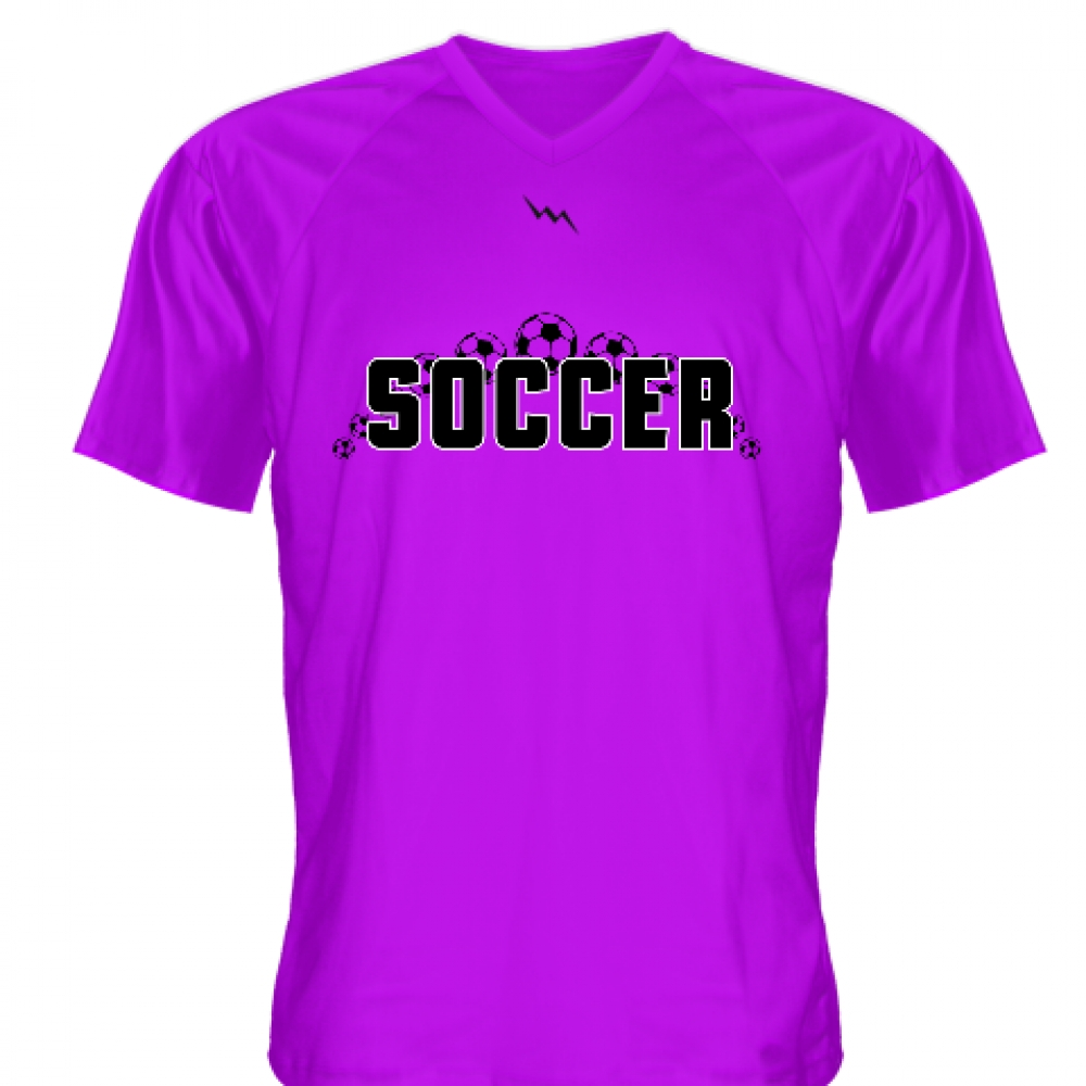 Purple+Soccer+Jerseys+V+Neck