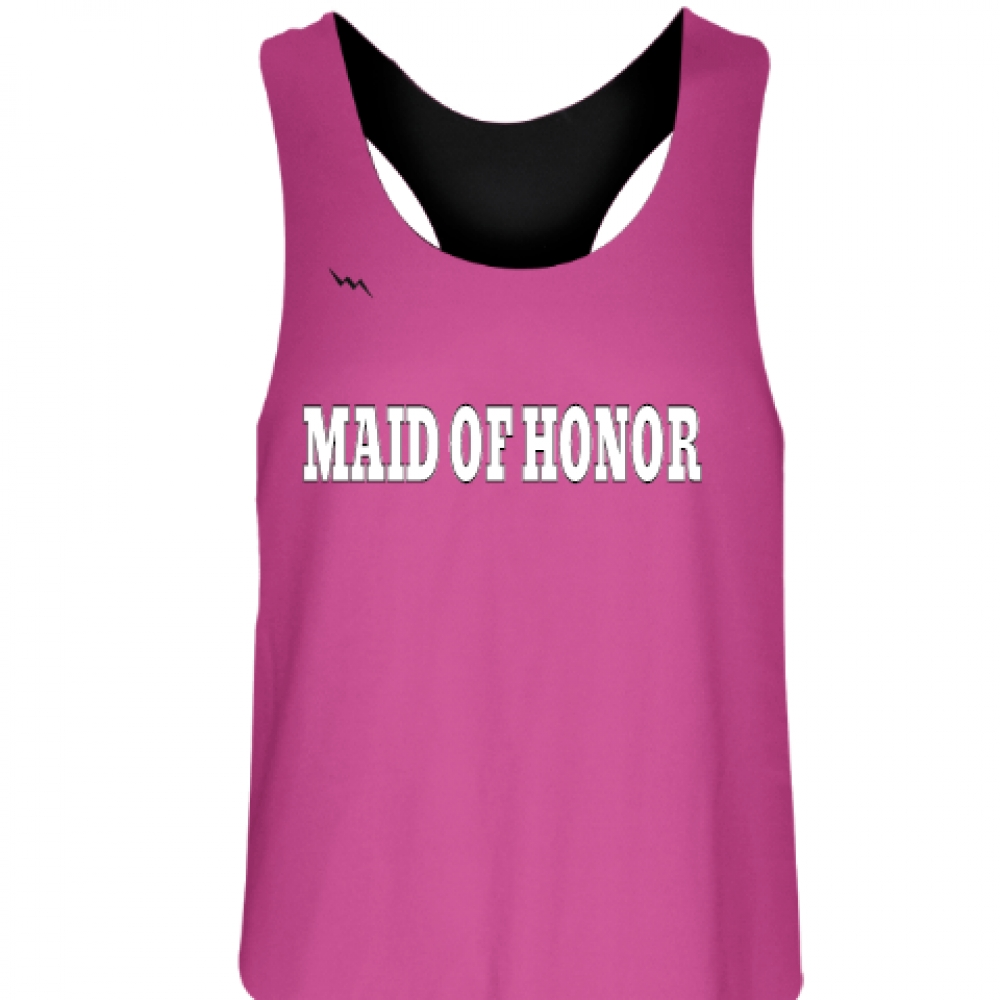 Maid+of+Honor+Reversible+Jerseys+-+Bachelorette+Party+Shirts