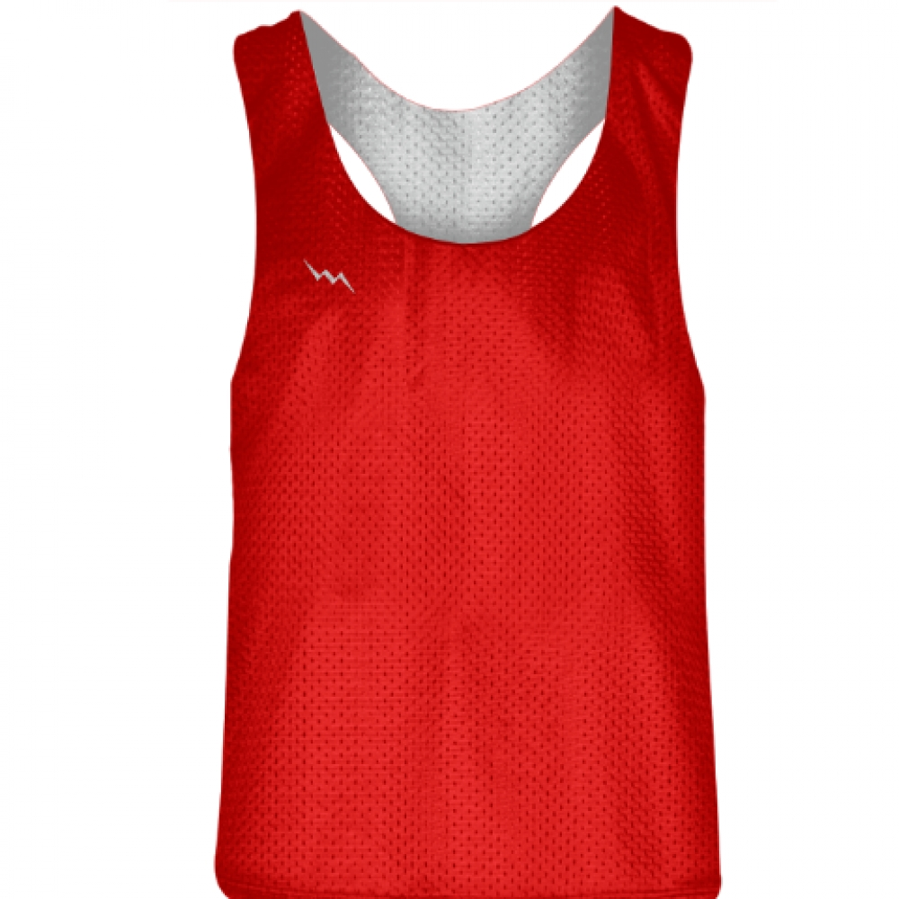 Blank+Womens+Pinnies+-+Red+White+Racerback+Pinnies+-+Girls+Pinnies