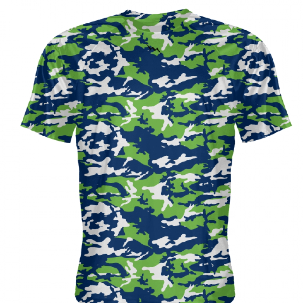 Neon+Green+Blue+Camouflage+Shirts+-+Sublimated+Camo+Shirts