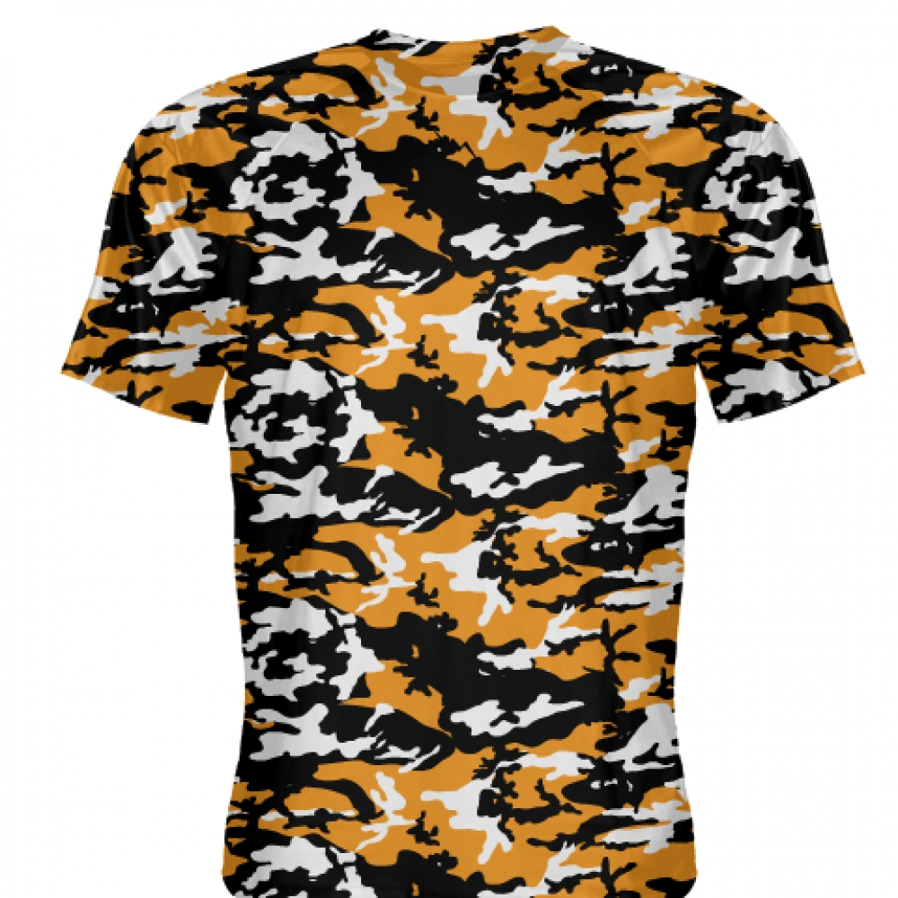 Orange+Black+Camouflage+Shirts+-+Sublimated+Camo+Shirts