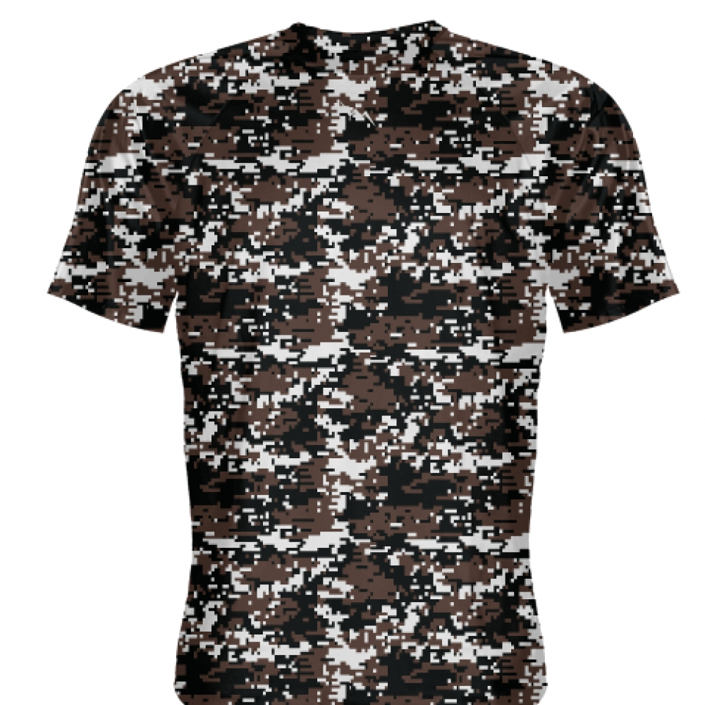 Brown++Digital+Camouflage+Shirts+-+Adult+_and_+Youth+Camo+Shirts