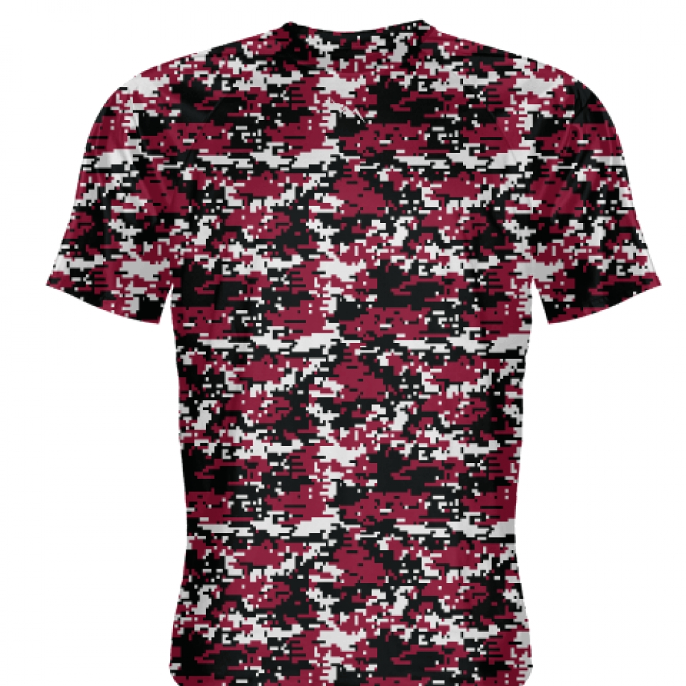 Cardinal+Red+Digital+Camouflage+Shirts+-+Adult+_and_+Youth+Camo+Shirts