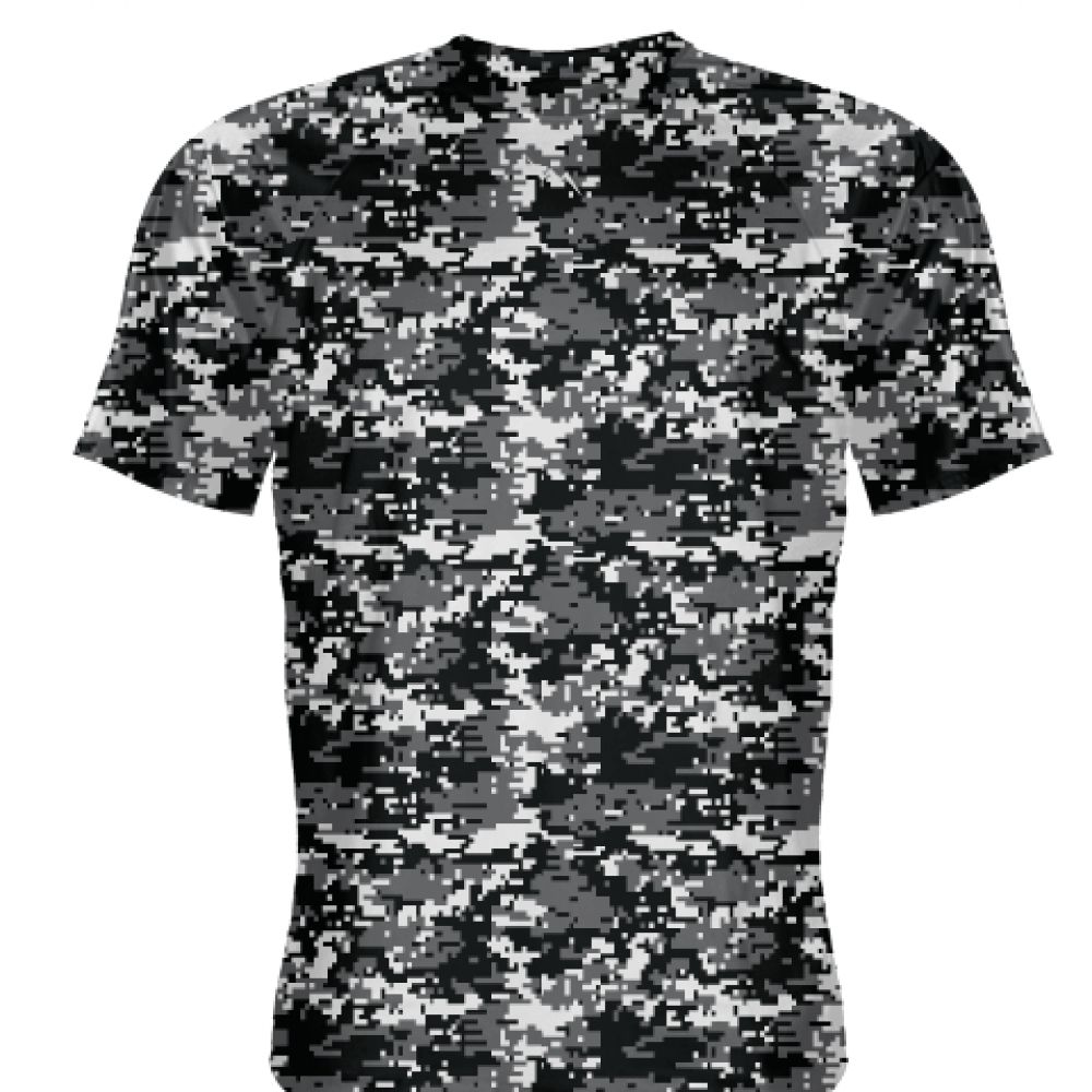 Black+Charcoal+Digital+Camouflage+Shirts+-+Adult+_and_+Youth+Camo+Shirts