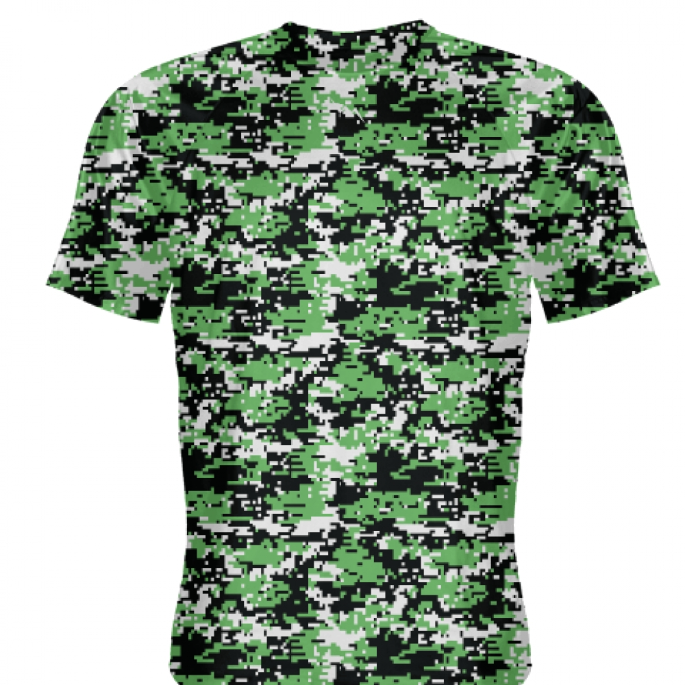Kelly+Green+Digital+Camouflage+Shirts+-+Adult+_and_+Youth+Camo+Shirts