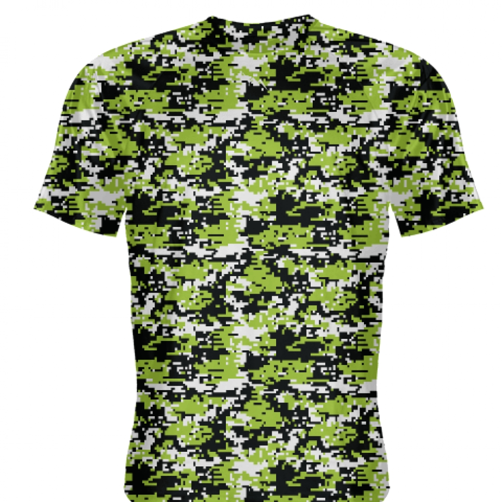 Neon+Green+Digital+Camouflage+Shirts+-+Adult+_and_+Youth+Camo+Shirts