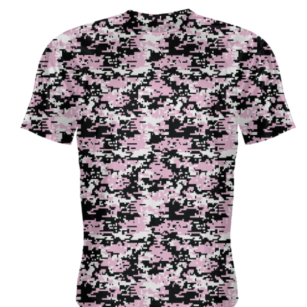 Pink+Black+Digital+Camouflage+Shirts+-+Adult+_and_+Youth+Camo+Shirts