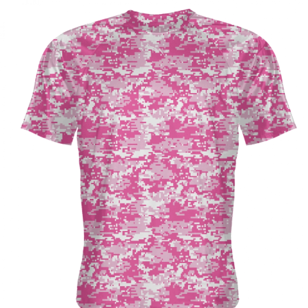 Pink+Hot+Pink+Digital+Camouflage+Shirts+-+Adult+_and_+Youth+Camo+Shirts