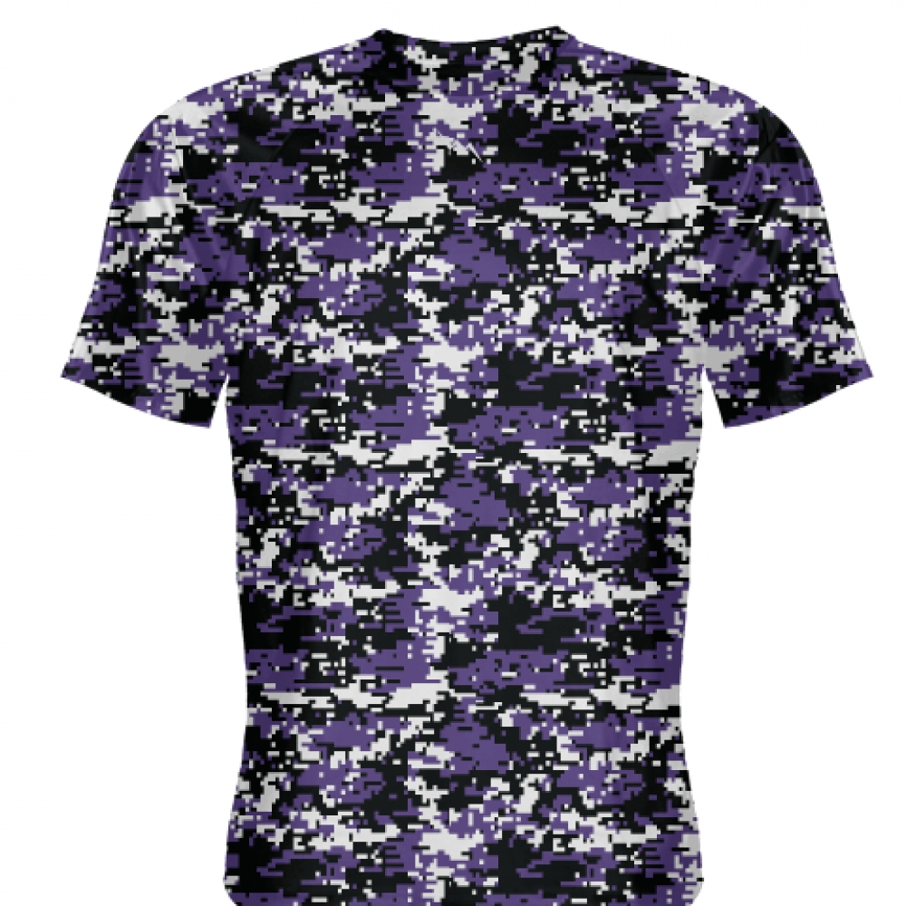 Purple+Black+Digital+Camouflage+Shirts+-+Adult+_and_+Youth+Camo+Shirts