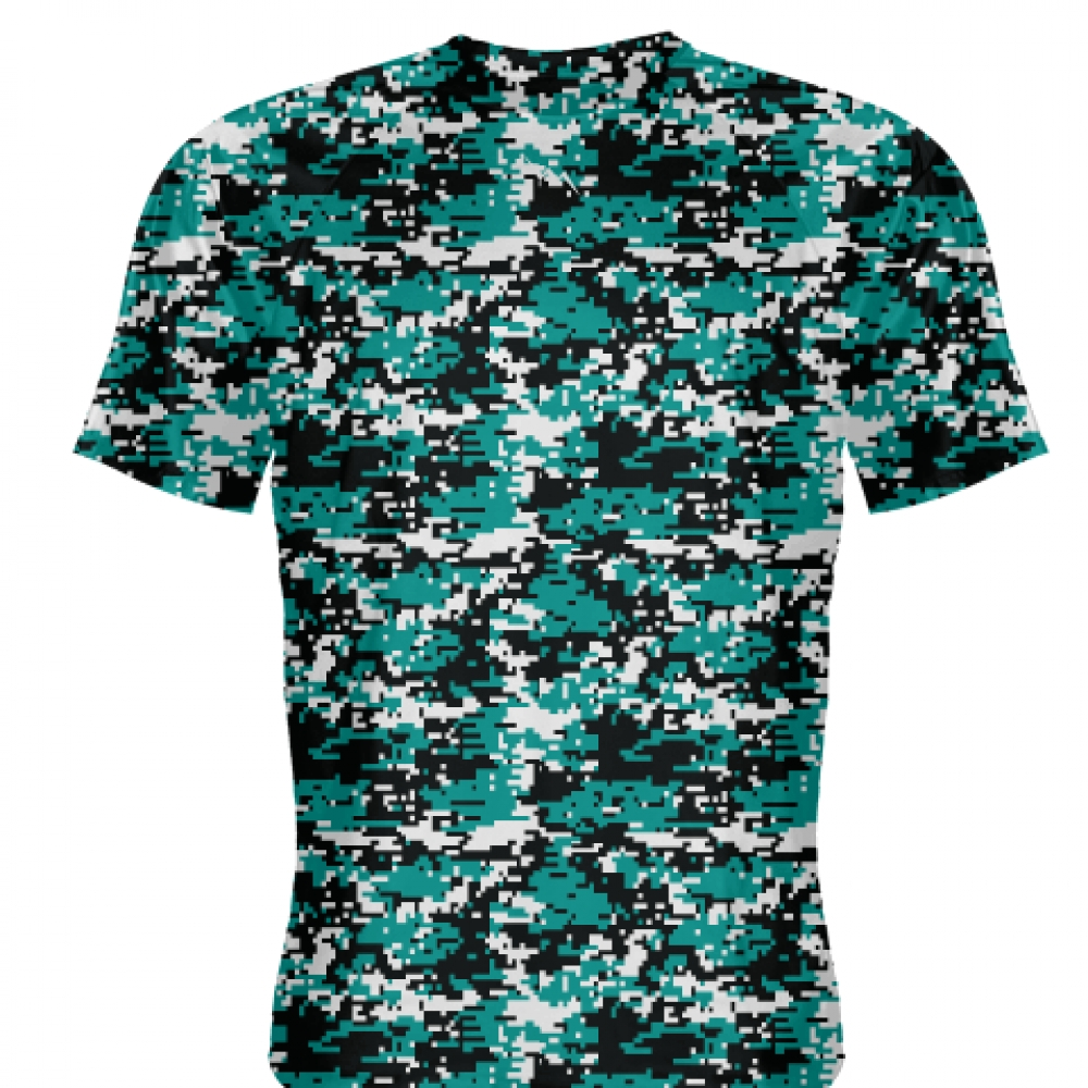 Teal+Digital+Camouflage+Shirts+-+Adult+_and_+Youth+Camo+Shirts