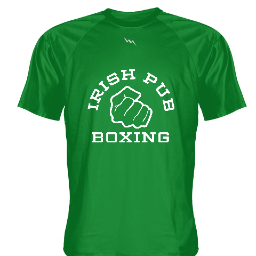 Irish+Pub+Boxing+T+Shirt+Green