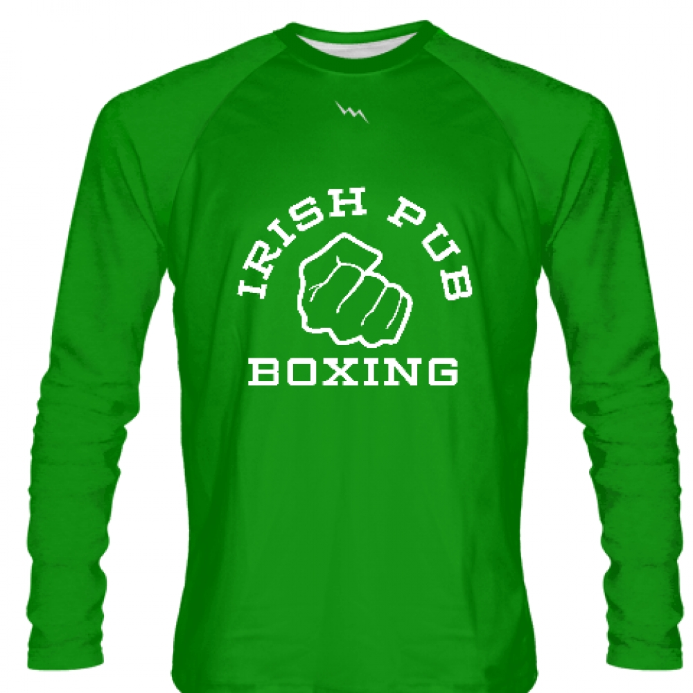 Irish+Pub+Boxing+Long+Sleeve+Shirt+Green