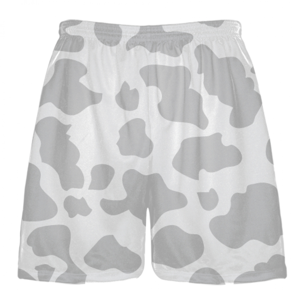 White+Silver+Cow+Print+Shorts+-+Cow+Shorts