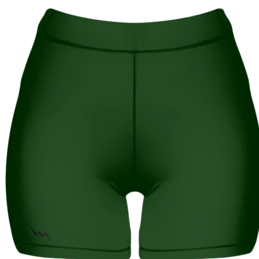 Forest+Spandex+Shorts+-+Girls+Womens+Spandex