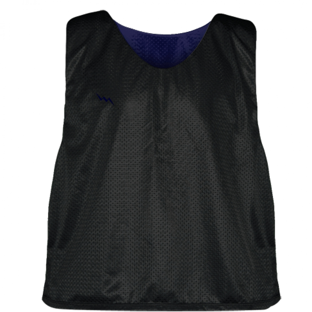 Lacrosse+Pinnies+Black+Navy+Blue+-+Adult+Youth+Mesh+Reversible+Jerseys
