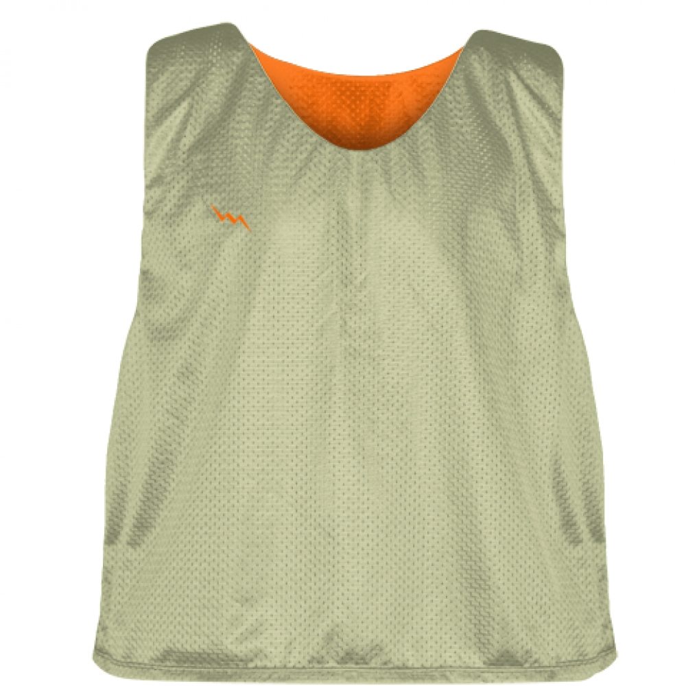 Vegas+Gold+Orange+Lacrosse+Pinnie+-+Lax+Pinnies