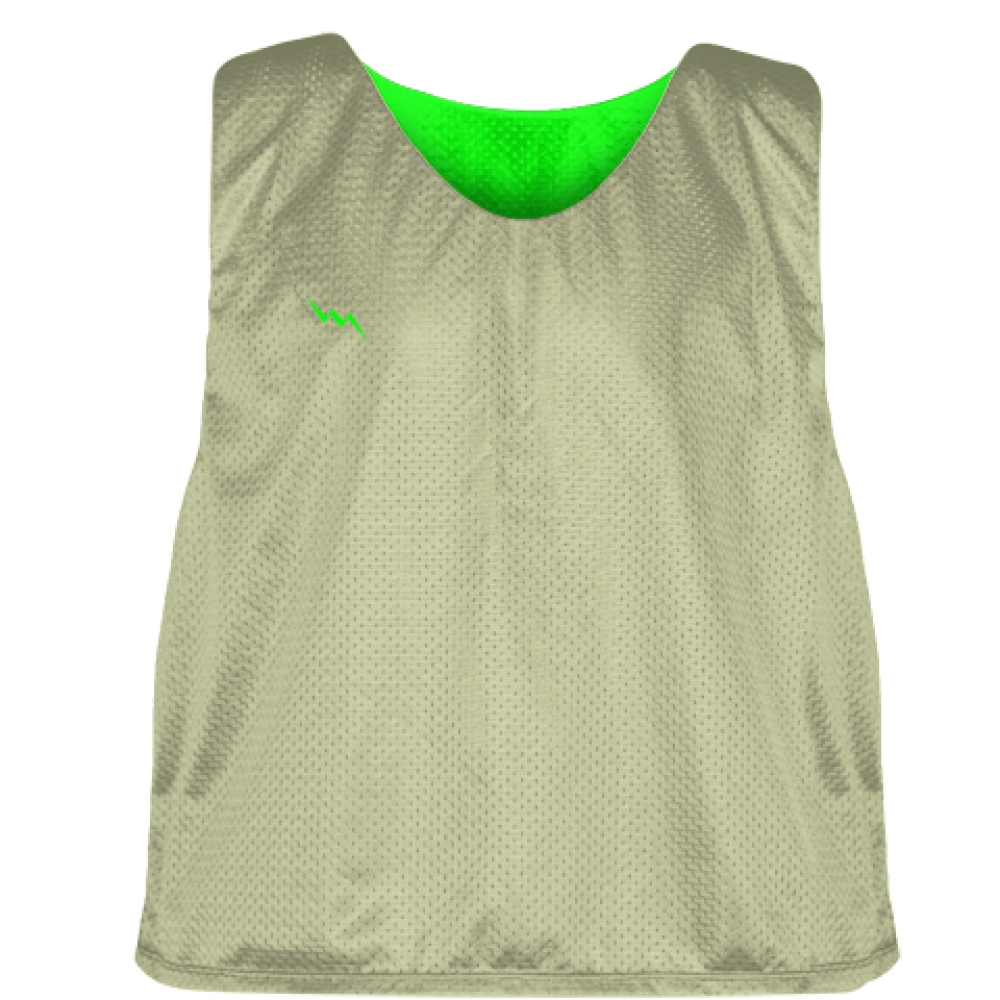 Vegas+Gold+Neon+Green+Pinnies+-+Custom+Lacrosse+Pinnies