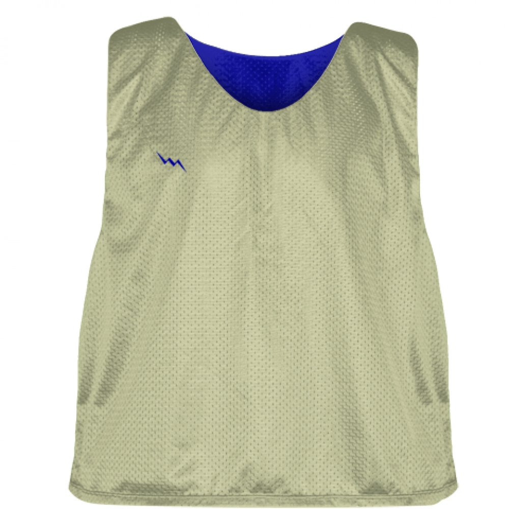 Vegas+Gold+Royal+Blue+Lacrosse+Pinnies+-+Lax+Pinnies