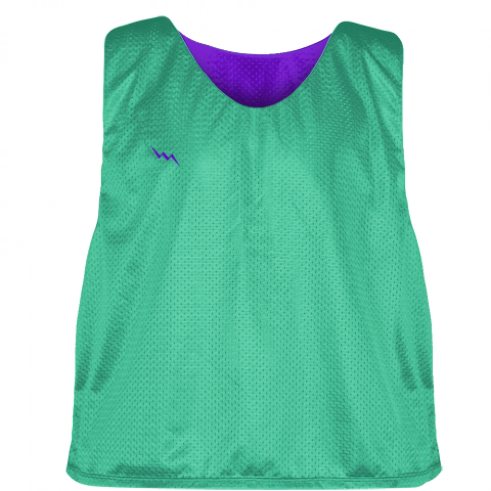 Teal+Purple+Reversible+Pinnies+-+Reversible+Lacrosse+Jerseys