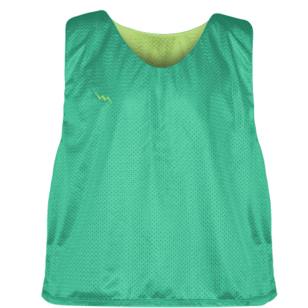 Teal+Lime+Green+Reversible+Pinnies+-+Reversible+Lacrosse+Jerseys