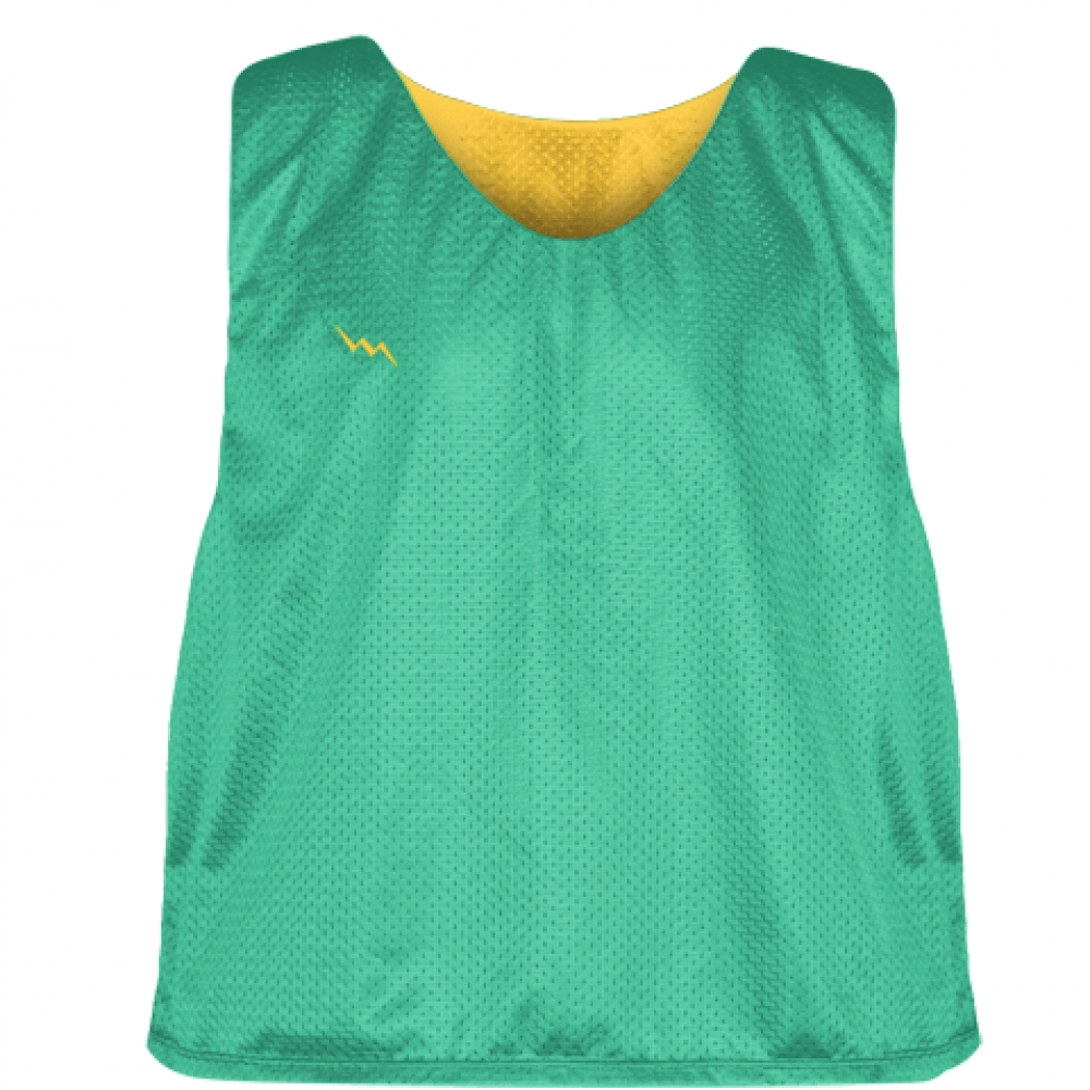 Teal+Athletic+Gold+Reversible+Pinnies+-+Reversible+Lacrosse+Jerseys