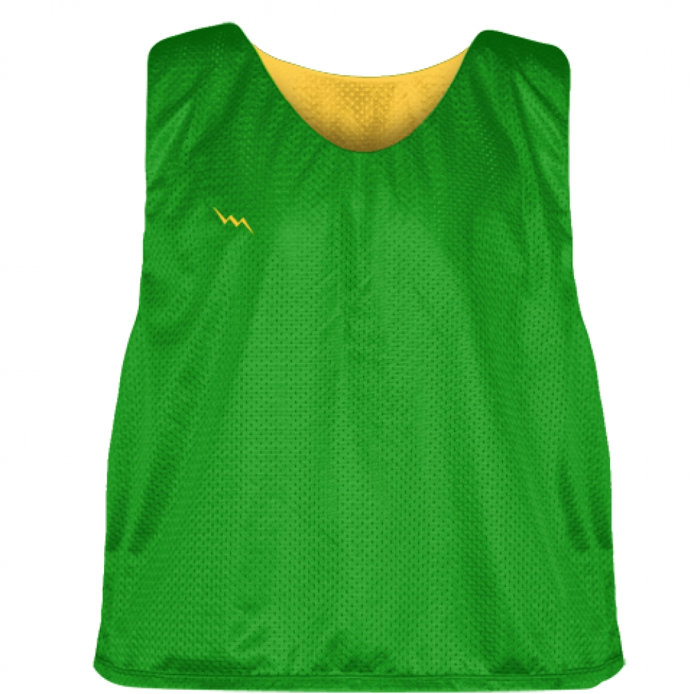 Kelly+Green+Athletic+Gold+Reversible+Pinnies+-+Reversible+Lacrosse+Jerseys
