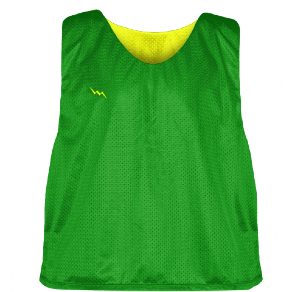 Kelly+Green+Yellow+Reversible+Pinnies+-+Reversible+Lacrosse+Jerseys