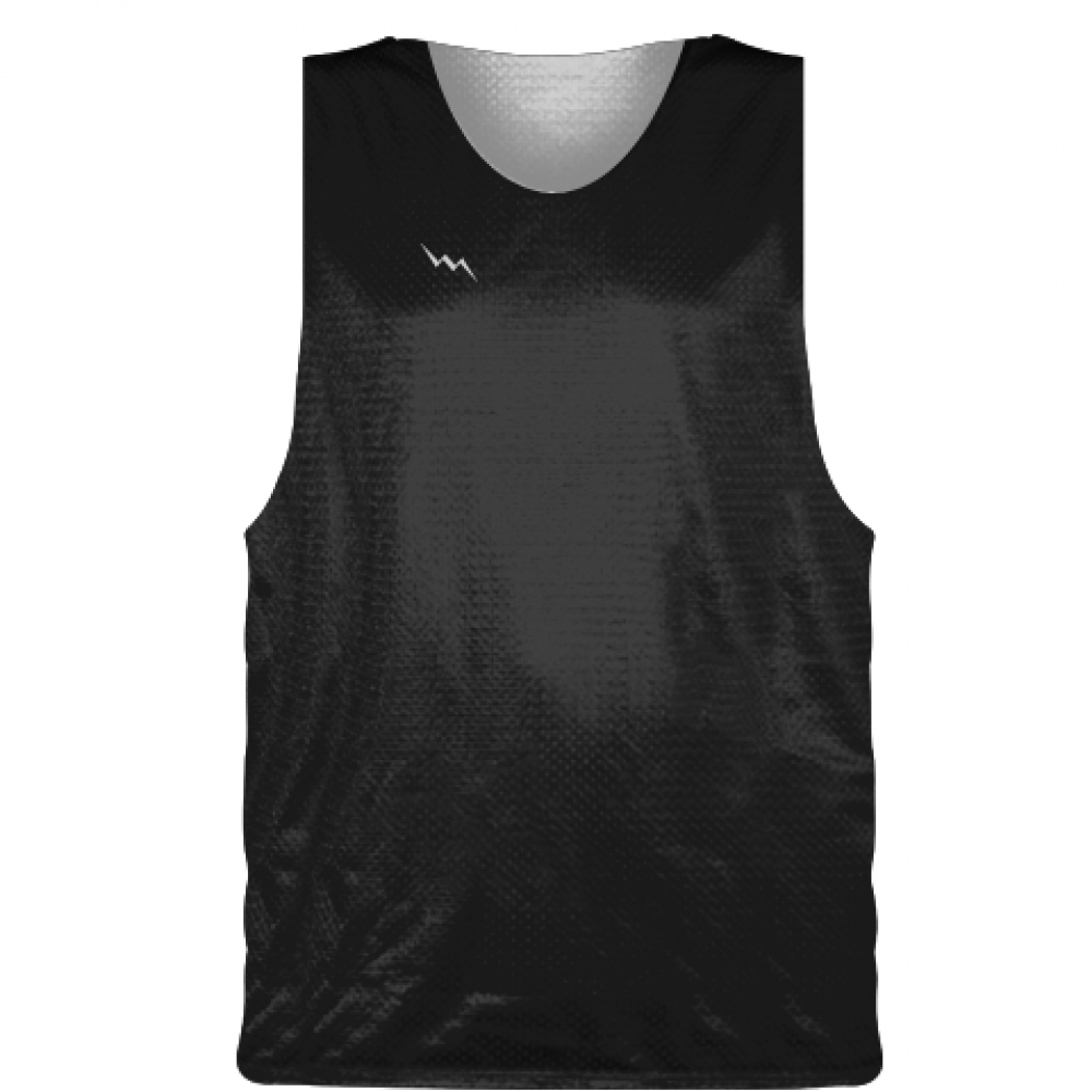 Black+Basketball+Pinnie+-+Basketball+Practice+Jersey
