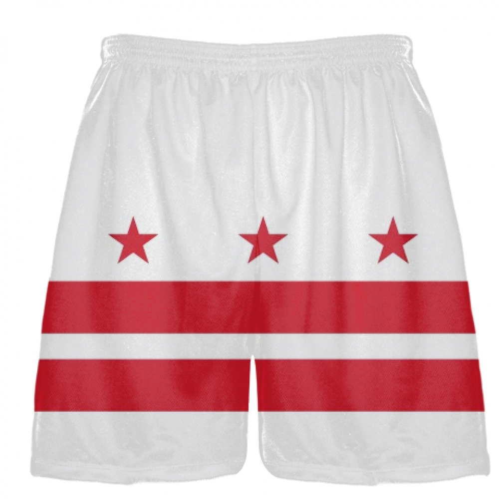 DC+Flag+Shorts+Washington+DC+Athletic+Lacrosse+Shorts