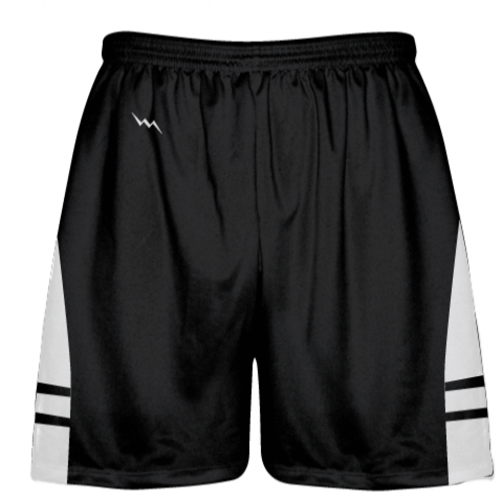 Black+White+Youth+Adult+Lacrosse+Shorts