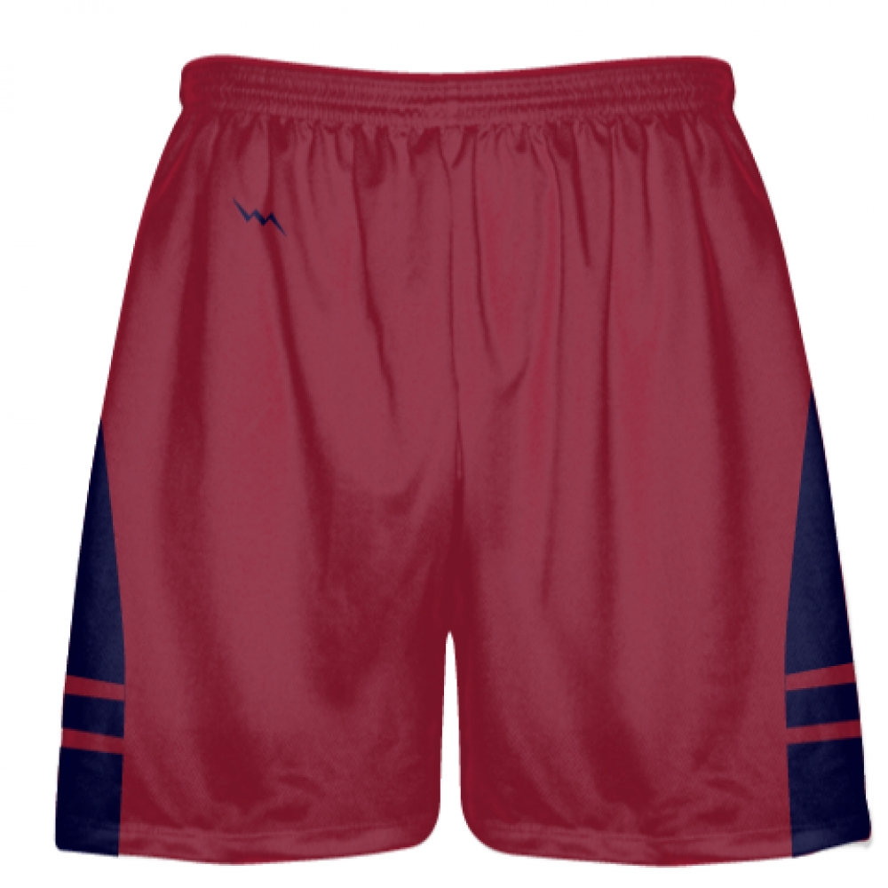 Cardinal+Red+Navy+Blue+OG+Lacrosse+Shorts+-+Mens+Boy+Lacrosse+Shorts
