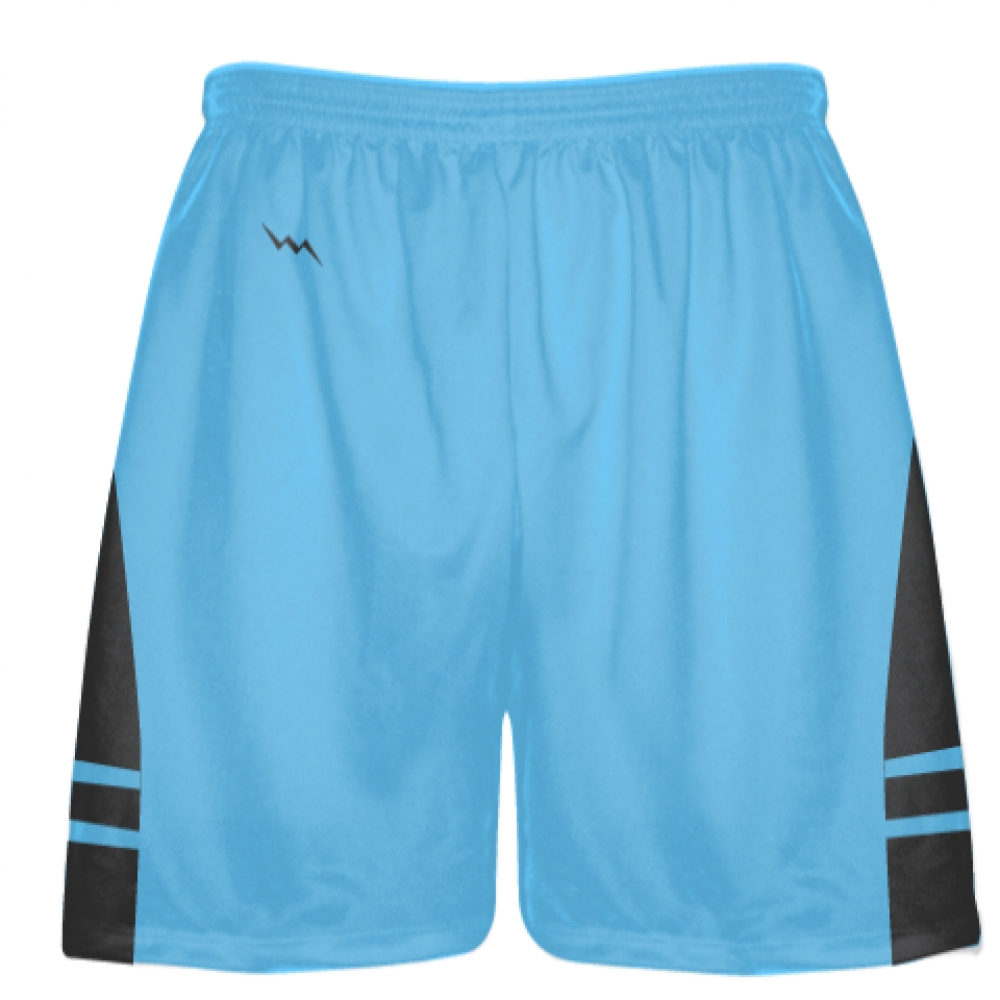 Powder+Blue+Charcoal+Gray+Lacrosse+Shorts+-+Mens+Boy+Lacrosse+Shorts