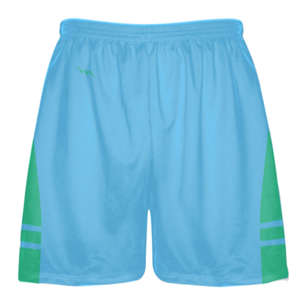 Powder+Blue+Teal+Blue+Lacrosse+Shorts+-+Mens+Boy+Lacrosse+Shorts