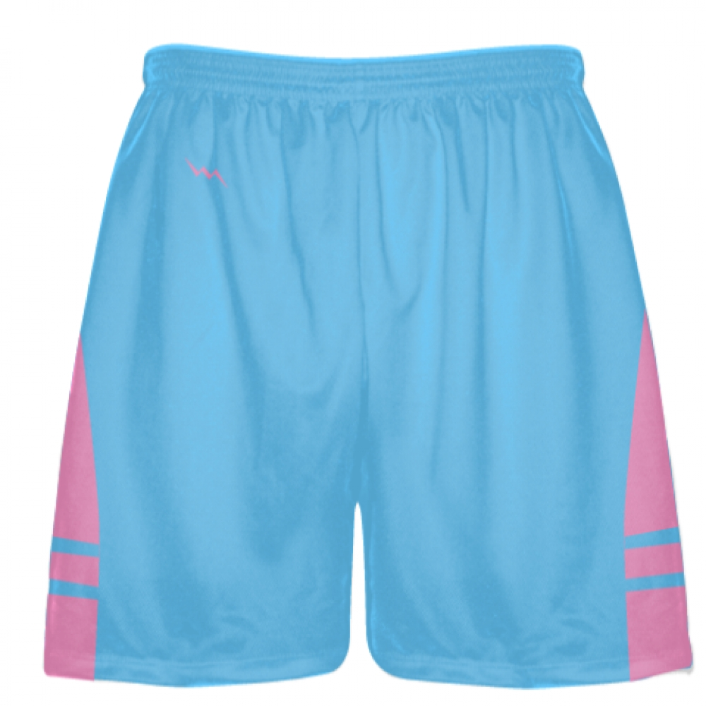 Powder+Blue+Pink+Lacrosse+Shorts+-+Mens+Boy+Lacrosse+Shorts