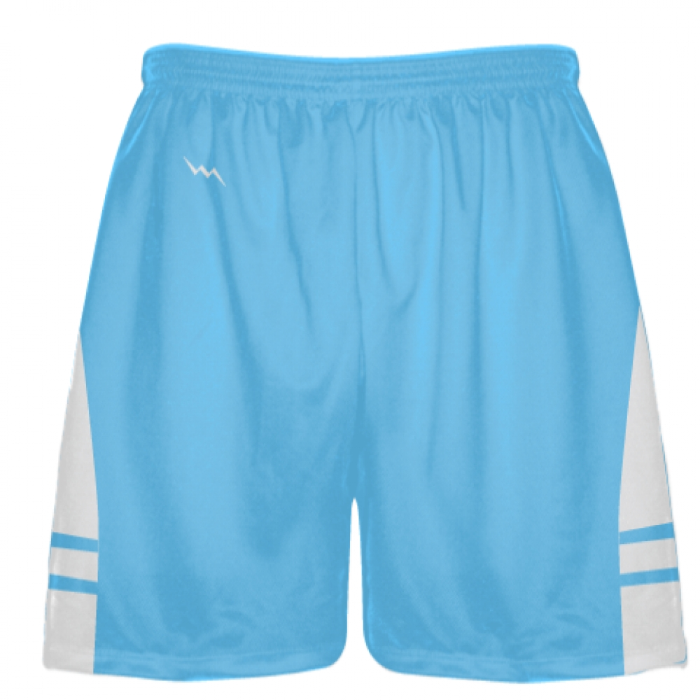 Powder+Blue+White+Boys+Lacrosse+Shorts+-+Mens+Lax+Shorts