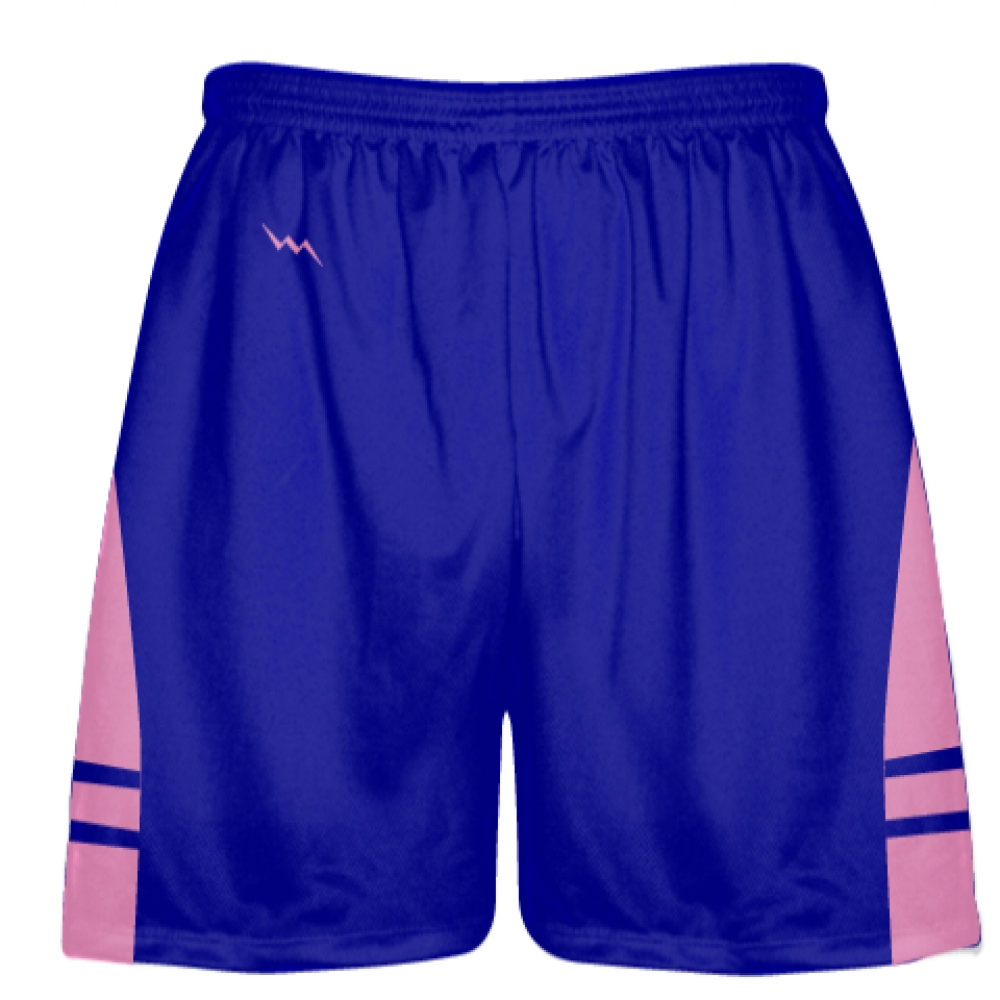 Royal+Blue+Light+Pink+Lacrosse+Shorts+OG+-+Lax+Shorts+Mens+Boys