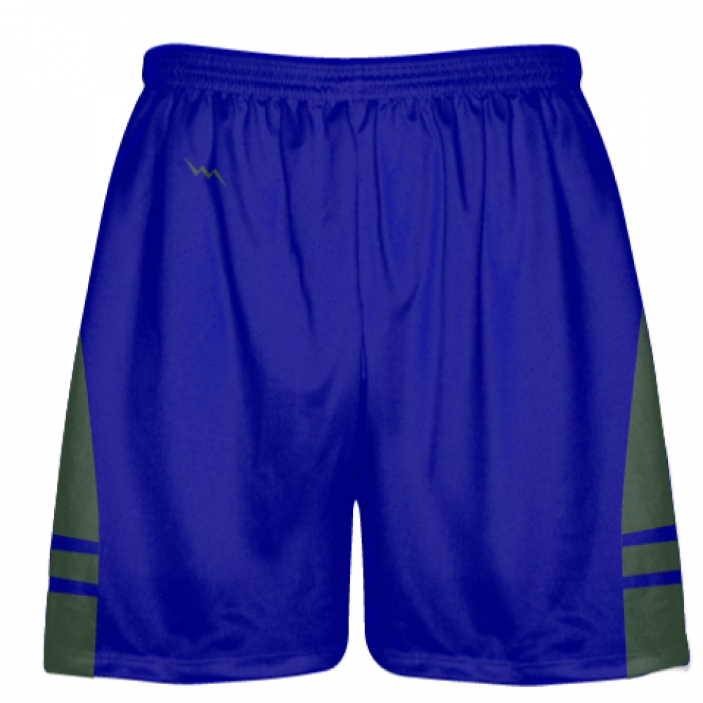 Royal+Blue+Dark+Green+Lacrosse+Shorts+OG+-+Lax+Shorts+Mens+Boys