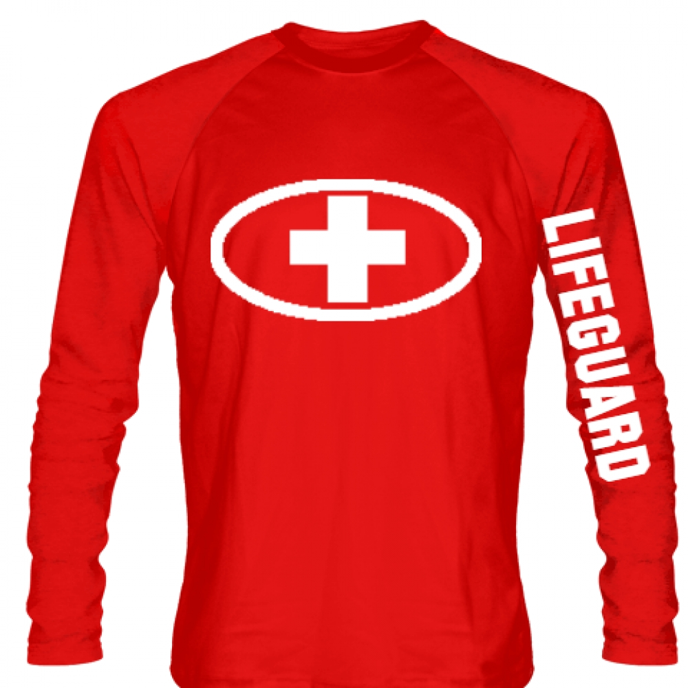 Lifeguard+Shirt+Long+Sleeved+-+Custom+Lifeguard+Shirt