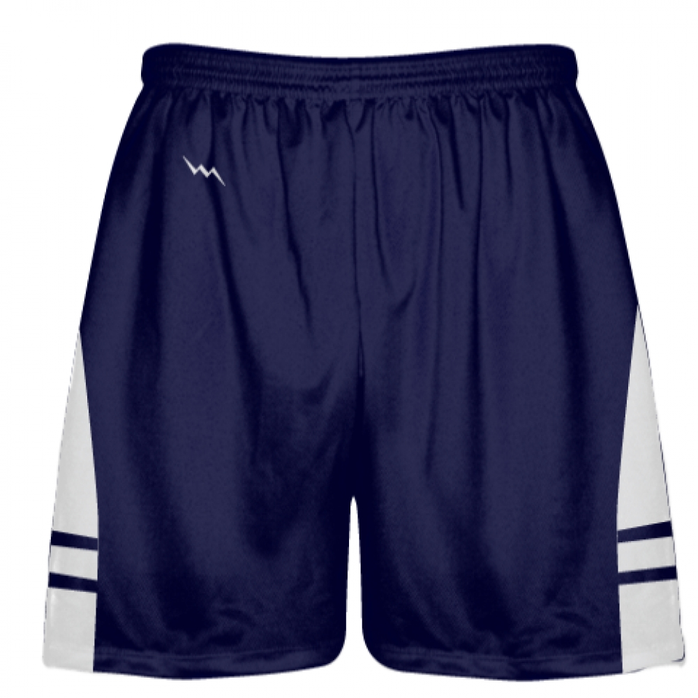OG+Navy+White+Lacrosse+Shorts+-+Mens+Kids+Lax+Shorts