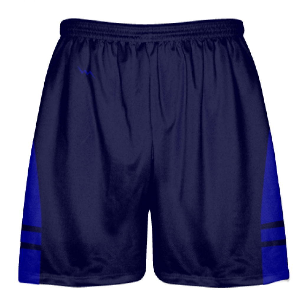 OG+Navy+Blue+Royal+Blue+Lacrosse+Shorts+-+Mens+Kids+Lax+Shorts