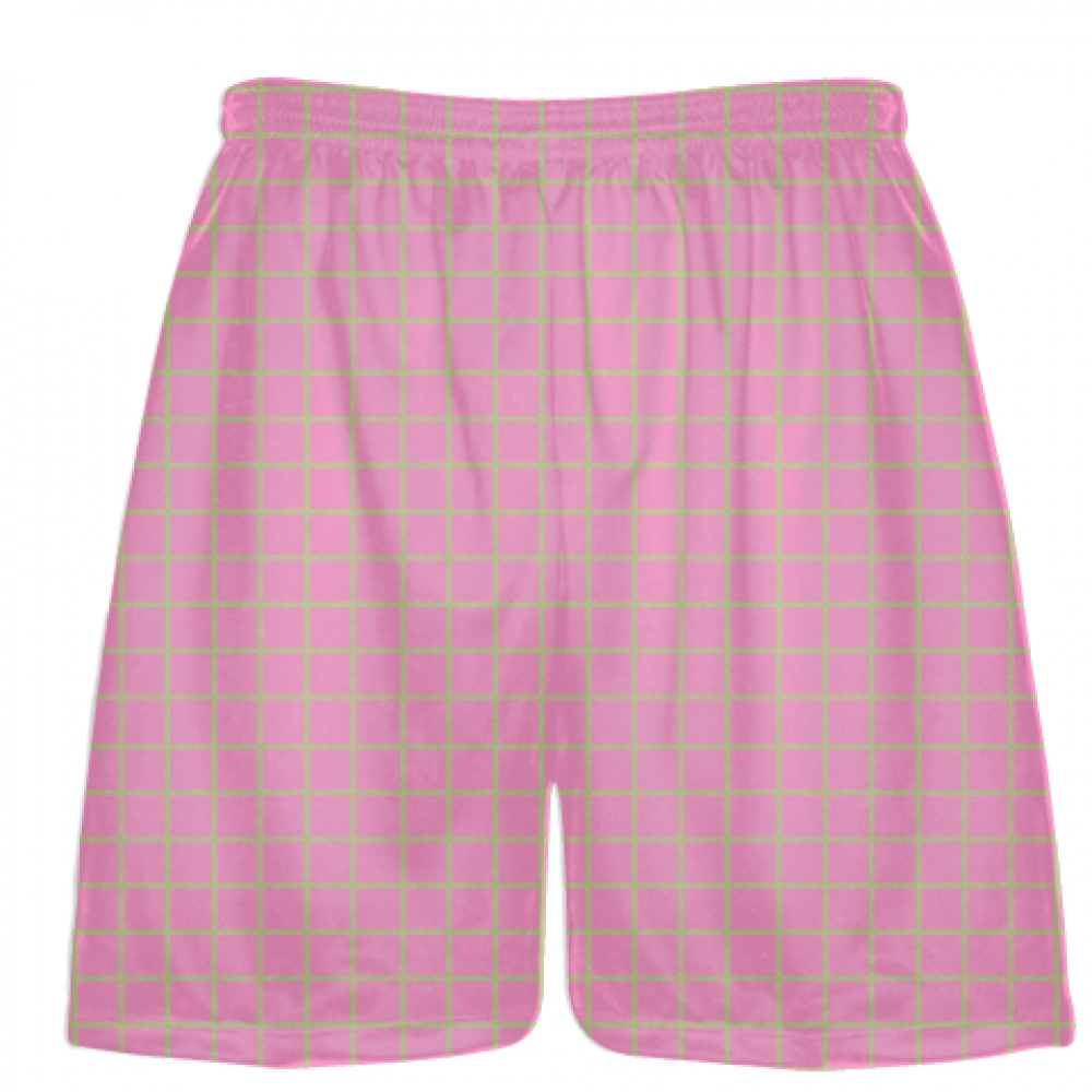 Grid+Pink+Vegas+Gold+Lacrosse+Shorts+-+Pink+Lax+Shorts+-+Youth+Lacrosse+Shorts