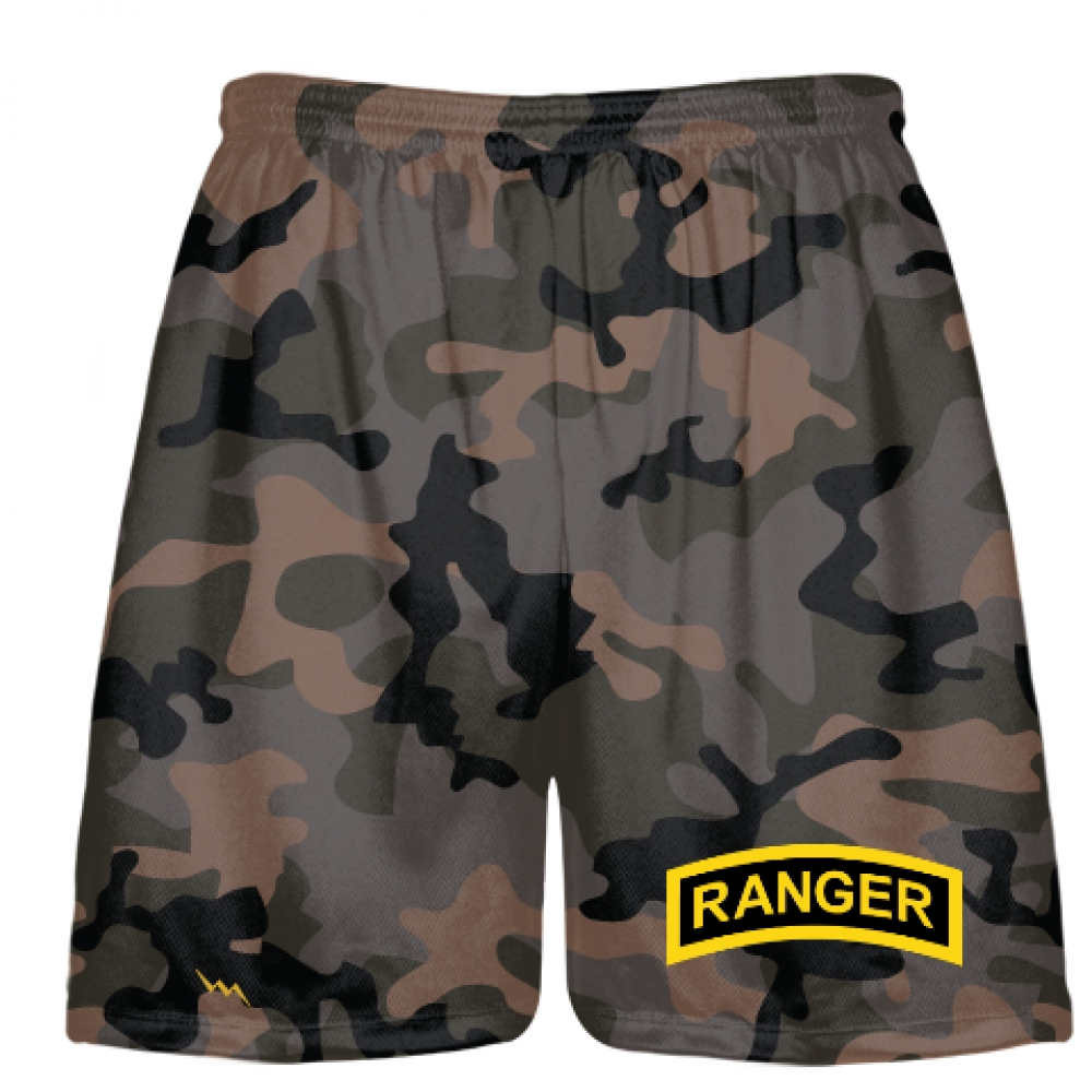 Urban+Camouflage+Army+Ranger+Shorts+-+Army+Ranger+Black+Shorts+-+Athletic+Shorts+Army