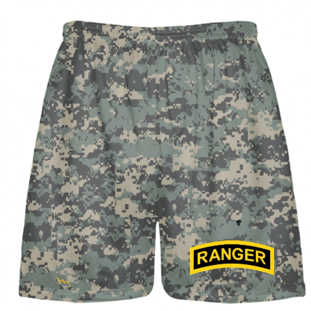 Faded+Digital+Small+Camouflage+Army+Ranger+Shorts+-+Army+Ranger+Black+Shorts+-+Athletic+Shorts+Army